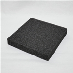 "Duocel® RVC Foam Panel - 3""x3""x0.5"""